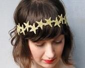 giant dwarf wedding accessories, glitter star headband