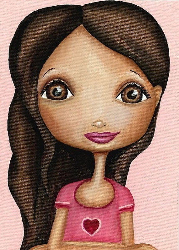 塔莎在学校绘画日8.5 X 11艺术作品
