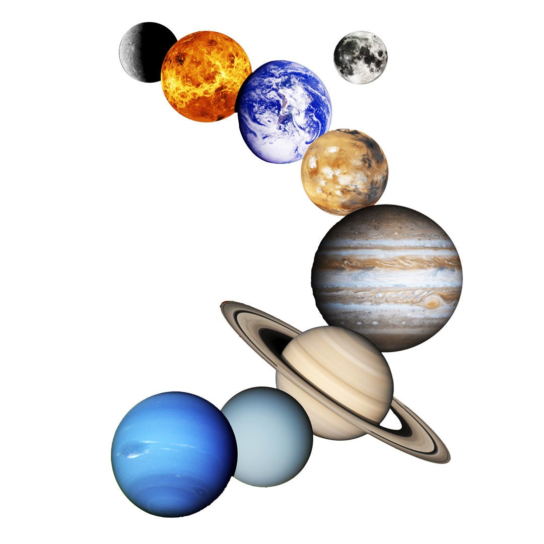 Solar System Planets in Order With Names images