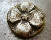Antique Dogwood Blossom Pendant