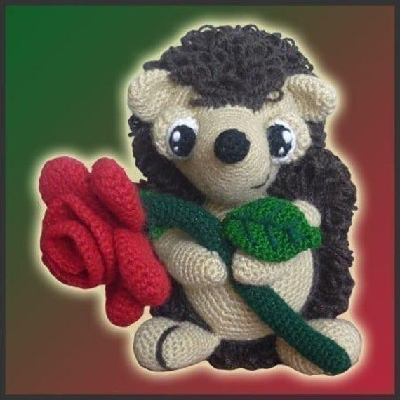 Amigurumi Pattern Crochet - Simon, The Hedgehog