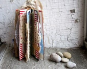 poetic mixed media fiber art book sculpture DOLLBOOK2 - studiogypsy