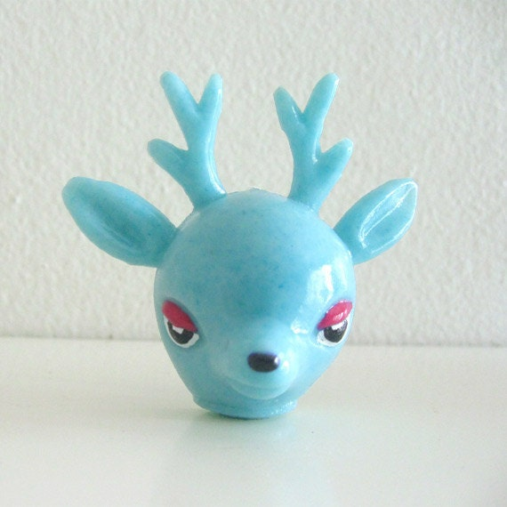 Kawaii Retro Resin Deer Figurine