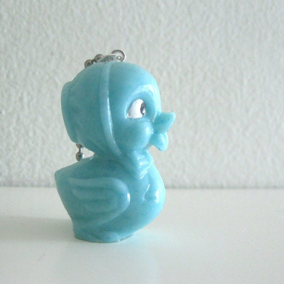 Kawaii Retro Resin Chick Figurine