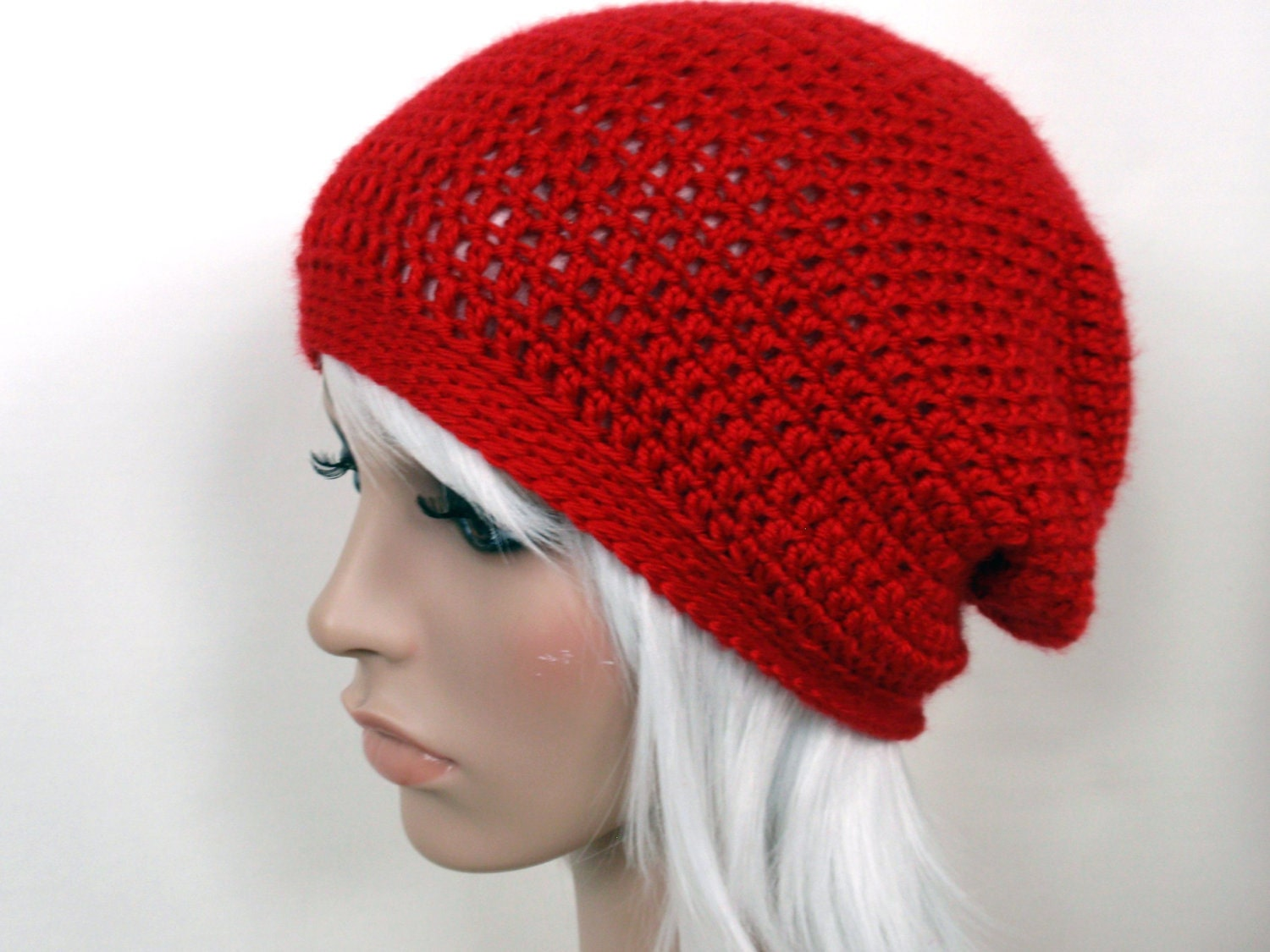 3a87b2f3edd new in the shop! MADE TO ORDER - Crochet Slouchy Beanie - Jenn Likes ...