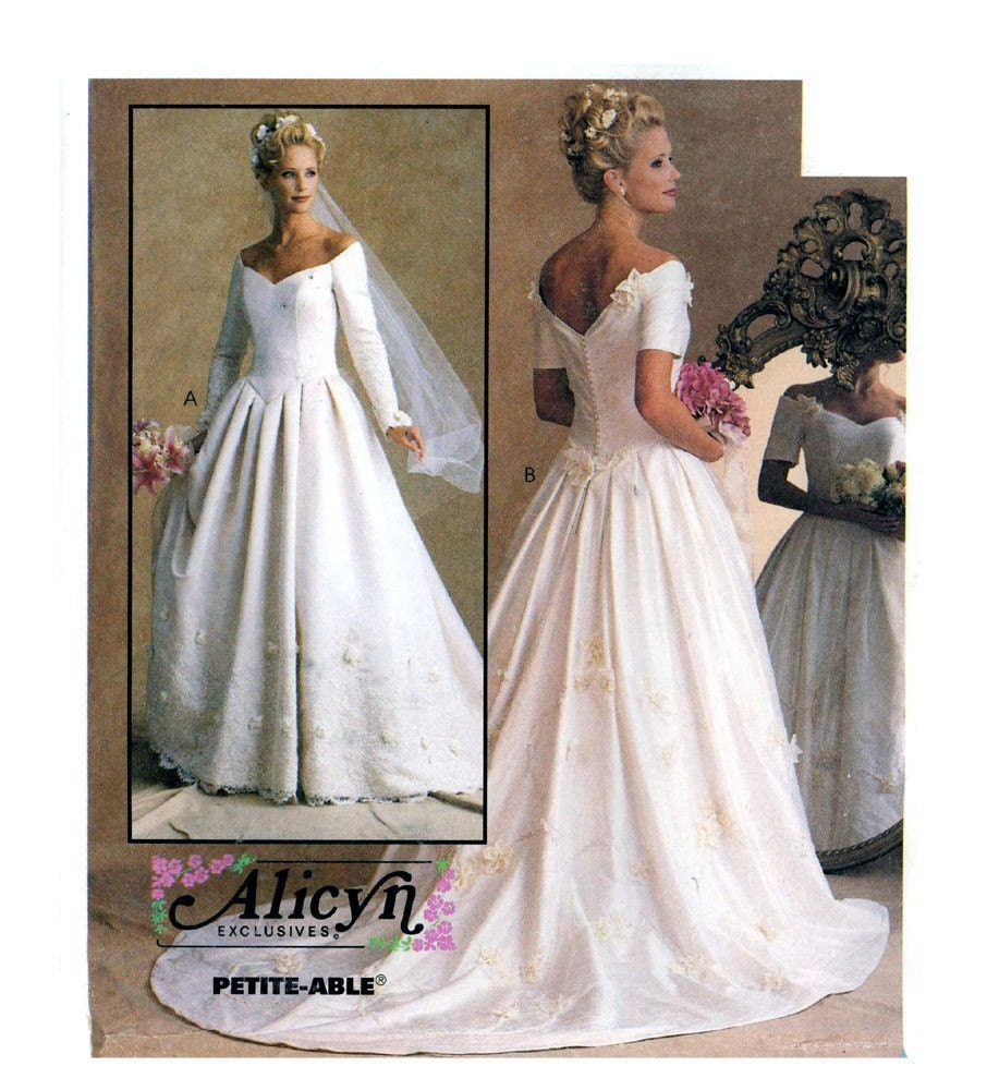 Sewing Patterns For Wedding Dresses