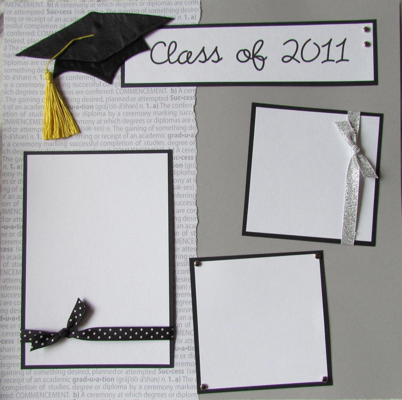 Scrapbook ideas graduation - Graduation