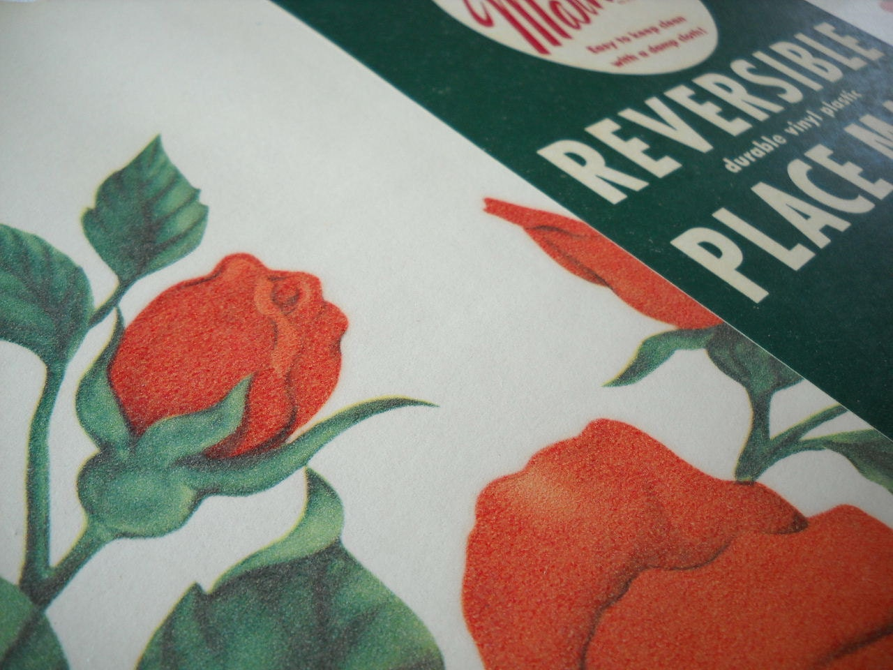 valentine placemat pattern