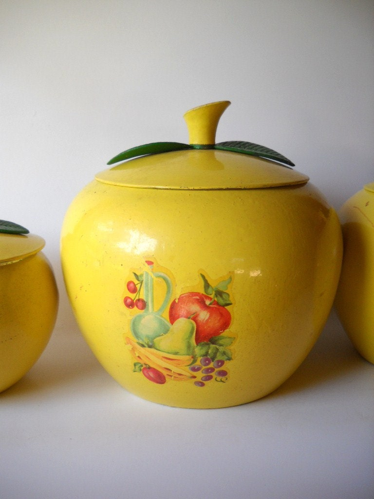 Yellow Canister Sets Kitchen 17 Best Images About Kitchen Canisters On Pinterest French