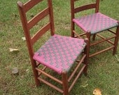 Two Shaker Tape Chairs - basketsbyrose
