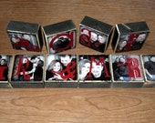 Personalized Photo Blocks- for your wedding- MR. and MRS. letter blocks for your reception decoration