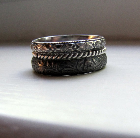 for 90 - Steampunk Wedding Rings