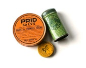 Collection of Doctor's Vintage Remedy Tins, Prid Salve, Dr. Sayman's Salve, Dr. Edward's Olive Tablets