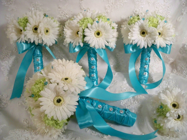 Wedding Bouquets: Gerbera Daisies Wedding Bouquets