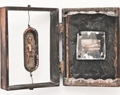 BROKEN PROMISES - Original Mixed Media Assemblage - RosemarieHughes