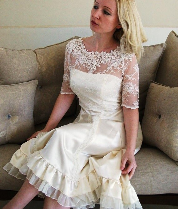 6fb299b0e7e3 KISS Me In BARILOCHE bridal lace bolero ivory lace top ivory lace blouse  bridal bolero jacket