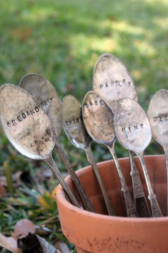 Herb Garden Markers - Set of 7