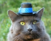 Top Hat for Cats and Dogs -  Olympian Blue - ToScarboroughFair