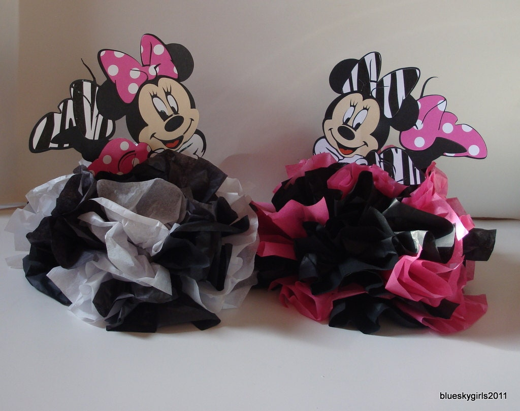 Baby shower ideas on pinterest minnie mouse girl baby for Baby minnie mouse decoration ideas