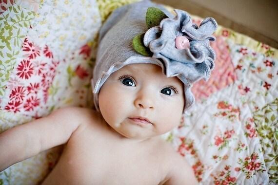 Snugars May Flower весна HAT шапочка новорожденных девочек малыша МЛАДЕНЦЕВ