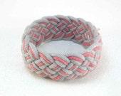 fog and tangerine turks head knot rope bracelet large 1975