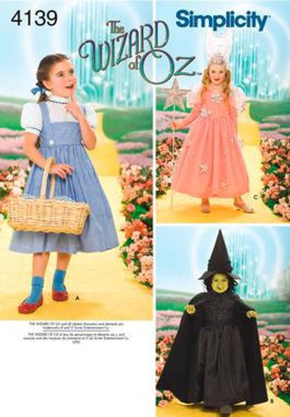 DOROTHY COSTUME PATTERNS | Browse Patterns