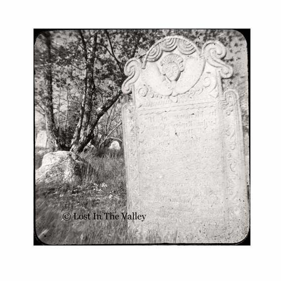 Black White TTV Photography Connecticut Cemetery Headstone Graveyard Surreal 5x5 Fine Art Photo fPOE