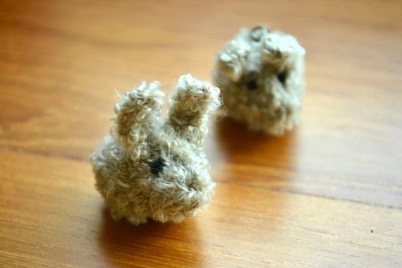 Momshoo- Dust Bunny hand-knitted amigurumi