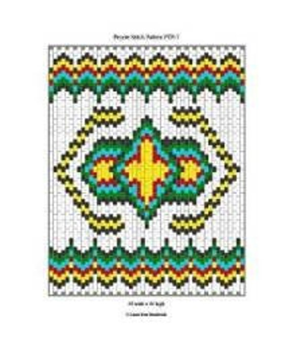 Native American Peyote Beading Patterns http://www.etsy.com/listing/69386645/peyote-beadwork-pattern-native-american