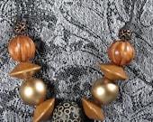Multi-Eye Bead Necklace