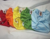 MamaBear BabyWear Waterproof Diaper Cover, Wrap One Size Fits All - Set of 5