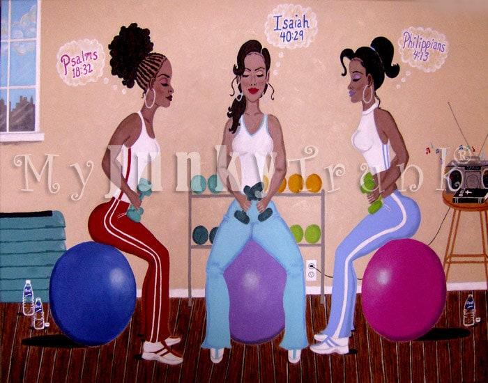 Black Women Workout Quotes. QuotesGram  Black Women Wor...