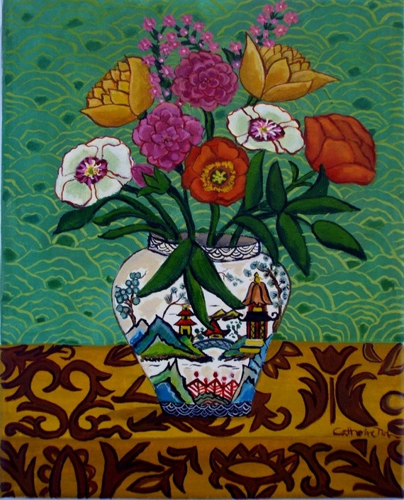 Chinoiserie Vase-small open edition print