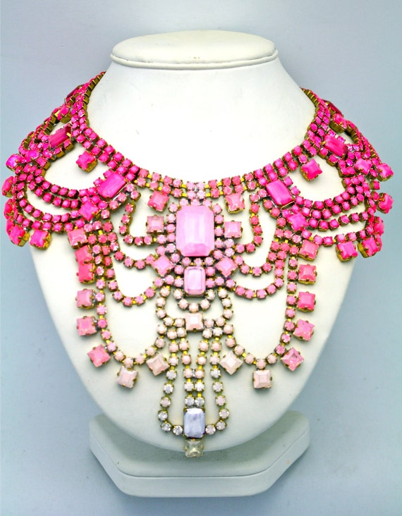One of a Kind Statement Necklace- Paris 3