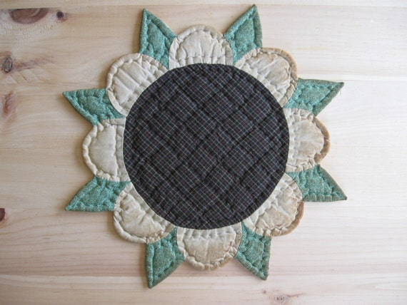 ... Table Topper Sunflower Rustic Decor Country Kitchen Decor Farmhouse