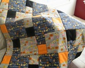 Construction Baby Quilt