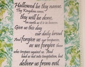 The Lord's Prayer Mini Quilt
