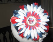 BILLS FOOTBALL FLOWER