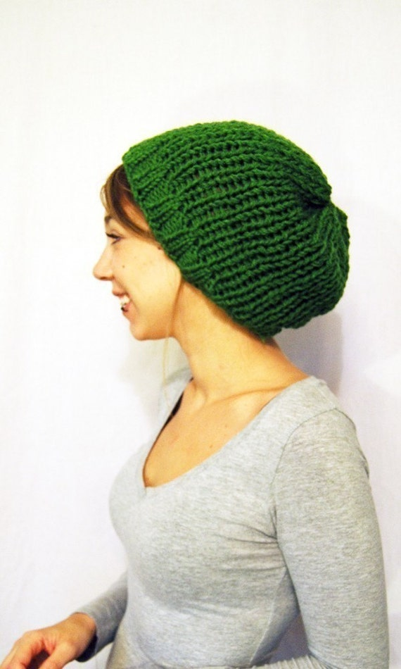 Four Seasons Slouch in Kelly Green
