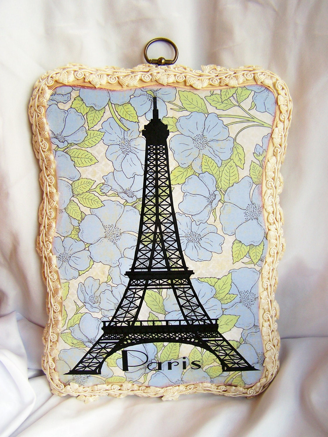 FREE SHIPPING Eiffel Tower Wall Art Wall by antiqueorvintagenew