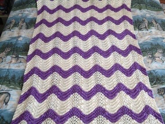 Free Aran Afghan Knitting Patterns : ARAN KNITTED AFGHAN PATTERN - Free Patterns