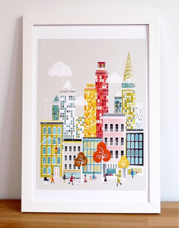 New York, Art Print