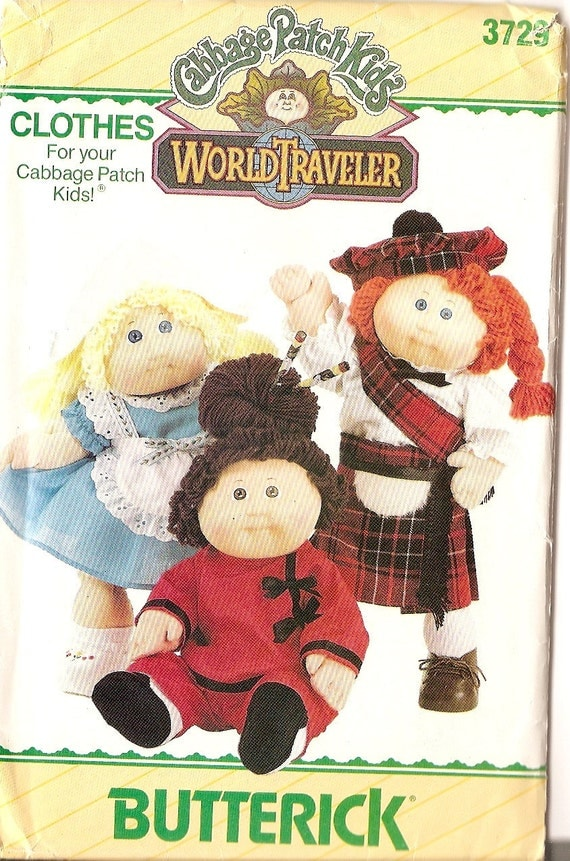 Butterick 5902 from Butterick patterns is a Cabbage Patch doll