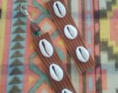 Diwata Earrings (faux leather)