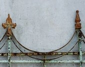 RUSTED Ornate Iron Railing 8 x 10 Photo Art Print - DaysLight