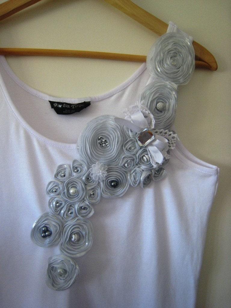 Как украсить футболку своими руками бусинами