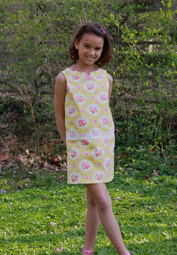 Girls Sheath Dress Pattern - Sis Boom Shannon PDF E-Book