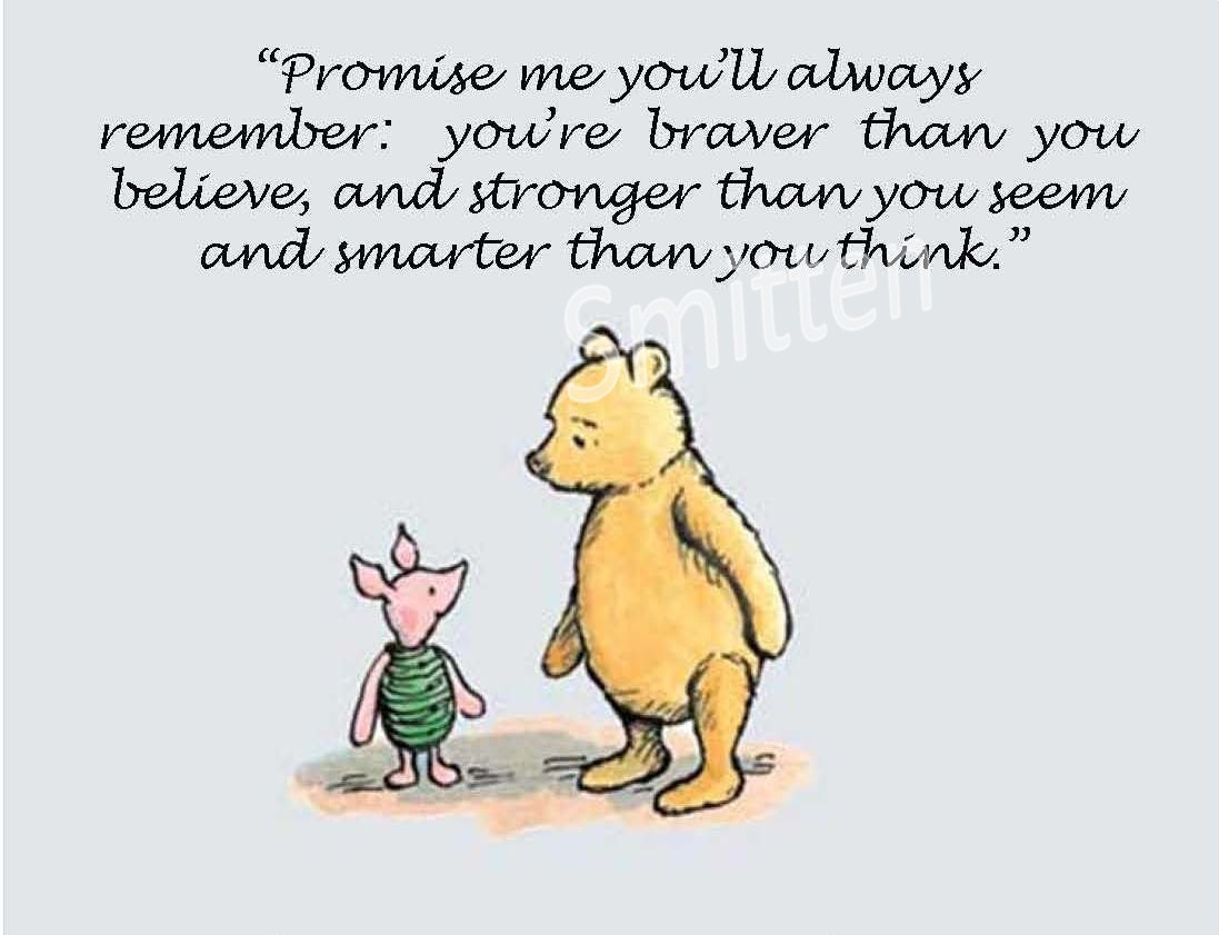 Winnie The Pooh Quotes: Pooh And Piglet Friendship Quotes. QuotesGram