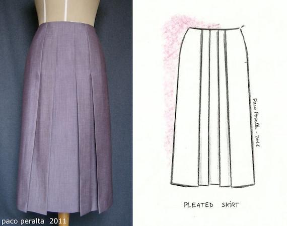 pleated skirt patterns 171 design patterns