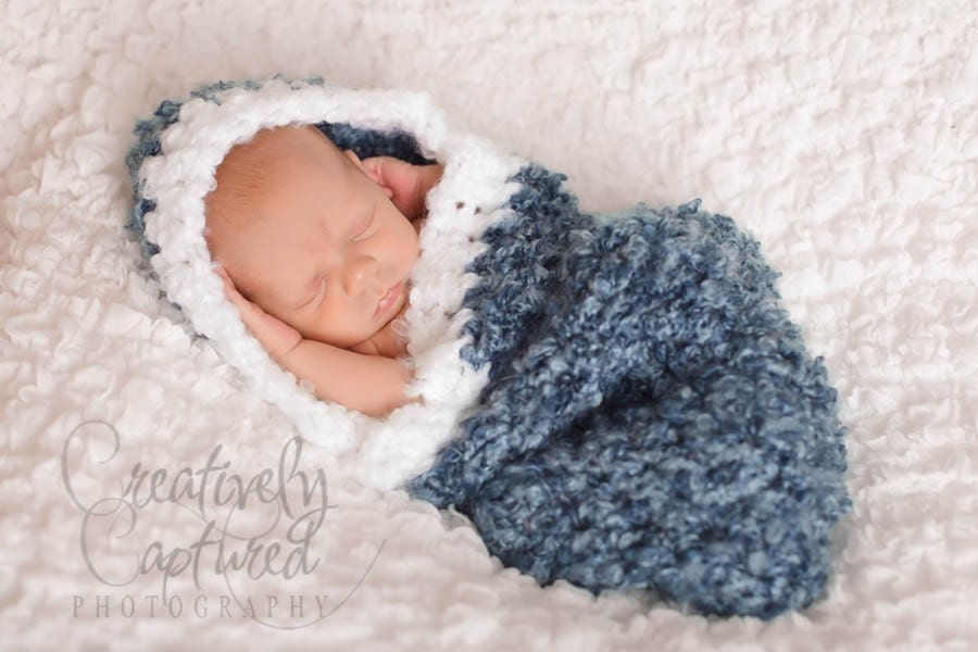 Newborn Hooded Cocoon Crochet Pattern Free Pakbit For
